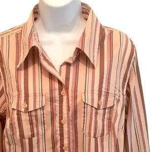 Lane Bryant button down shirt